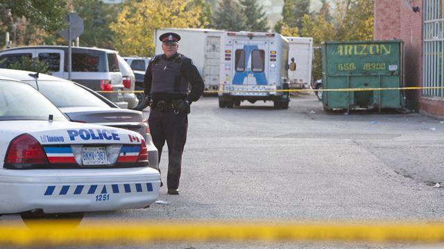 fatal gunshot wounds on Weston Road