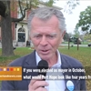 Port Hope mayoral candidate Bob Sanderson discusses platform on video