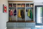 The makings of a mudroom