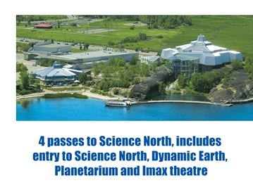 Enter to win four passes to Science North