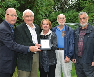 Friends of the Merrickville Turbine celebrate Trillium grant– Image 1