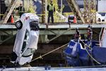 Driver and car recovered after plunge into frigid waters off Cherry Street