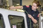 Wasaga hands pumper keys to Georgian College firefighting program