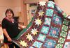 Alice Williams and one version of her starblanket