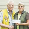 Coldwater Lions Club donates to Wendat Seniors Residence