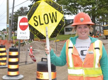 Road construction projects on track, Barrie says