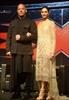 Actors Vin Diesel and Deepika Pa