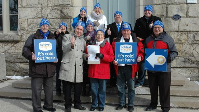 Milton proclaims Feb. 20 Coldest Night of the Year Walk Day