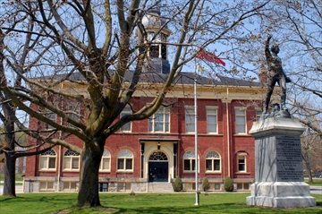 Port Hope Town Hall summer