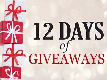 Barrie's 12 Days of Giveaways!