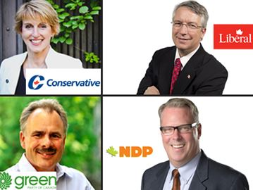 Guelph's federal election candidates