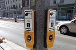 New pedestrian signals