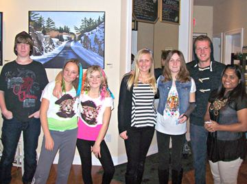 All the performers from Saturday's Youth Talent Show in Alliston.