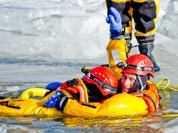 Icy training
