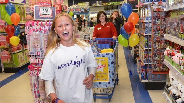 Starlight Shopping spree at Toys R Us