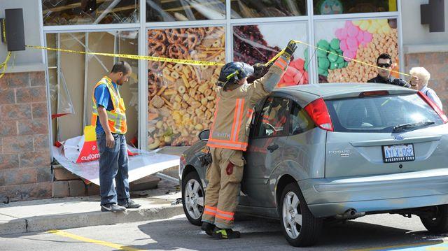 vehicle driven into bulk barn in burlington insidehalton com