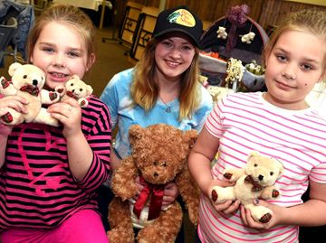 Teddy Bear Tea Party boosts Flamborough Food Bank