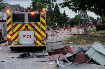 Hickory Drive explosion