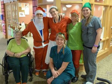 Decking the halls at Mill Creek Care Centre in Barrie