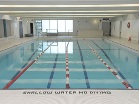 Antibes pool for Community center toronto swimming pool