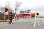 Crash closes Nafziger Road