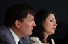 Maryam Monsef, Minister of Democratic Institutions, and Dominic LeBlanc, Leader of the Government in the House of Commons