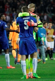 Leicester's Vardy ends goal drought in 2-1 loss at Sevilla-Image3
