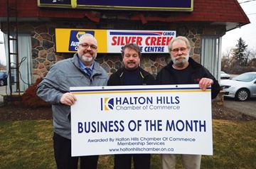 Silver Creek earns monthly Chamber award