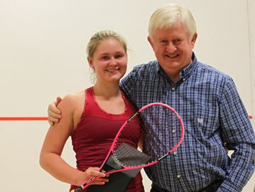 Oakville squash player Naughton earns first world tour win