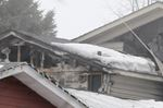 Garage explosion in Barrie