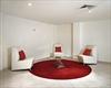 Lynn Cohen Red Cushions