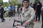 Cyclists rally