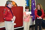 Teacher wins WestJet tickets in Stroud Scout raffle