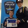 Barrie Police host first junior constable camp