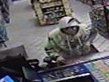 Robber sought