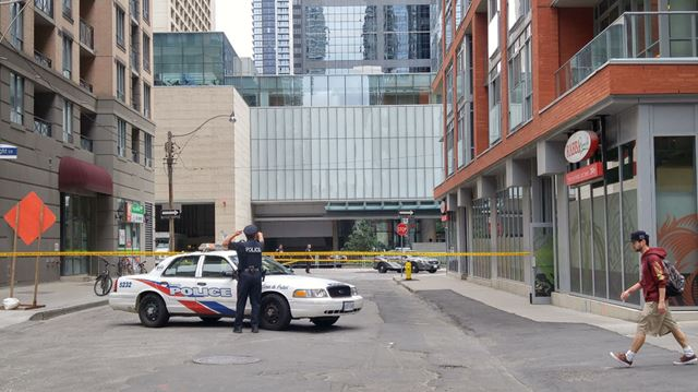 Toronto police close downtown street after falling glass for 126 simcoe street floor plans