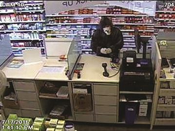 Shoppers attempted robbery suspect (1)