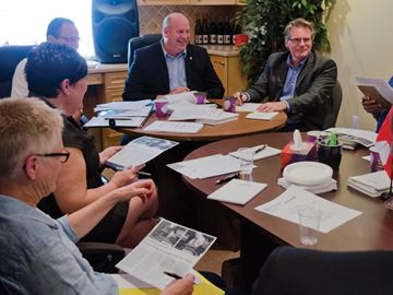 MP Dean Allison hosts roundtable on death and aging