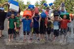 Oakville minor peewee hockey teams taking ALS Challenge