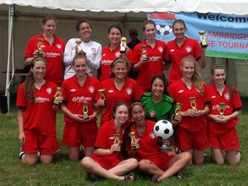 Oakville 18U girls win Cambridge soccer tournament