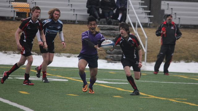 Rugby teams converge in Beckwith