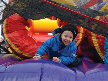 SnowBlast aims to bring neighbours together for winter fun