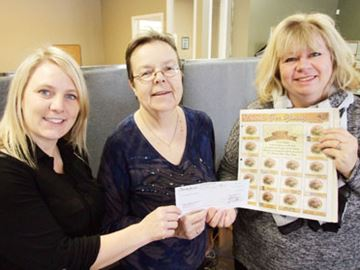 Orillia Today helps food bank