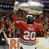 Chicago Blackhawks revel in Stanley Cup win at home