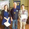 January student of the month recognized by Penetanguishene Rotary Club