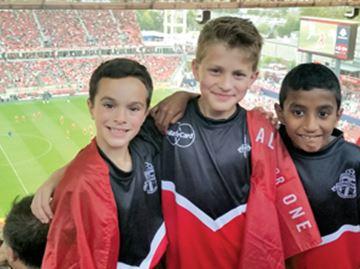 Avid fans