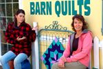 Barn quilt pioneers