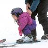Learning to ski at Brimacombe