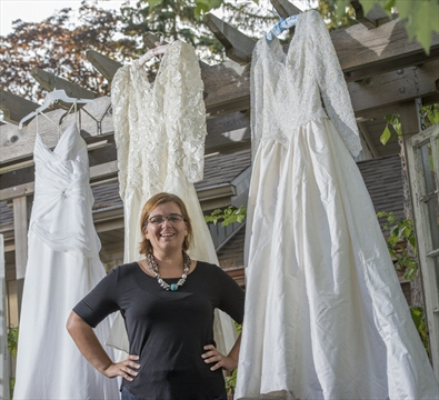 To Haiti, with love: Used dresses help make wedding dreams come true