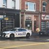 Stabbing call in Barrie